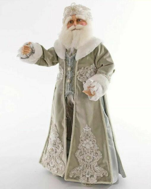 Katherine's Collection Peace On Earth Santa Doll 24 11-911534