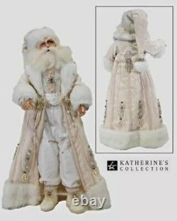 Katherine's Collection Retired Snow Queen Santa Doll 18 NEW RARE RETIRED