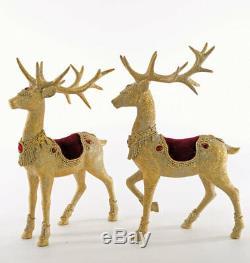 Katherine's Collection Royal Reindeer 16 Pair (2 pcs) 23-923554