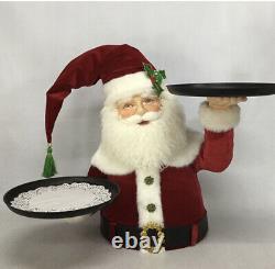 Katherine's Collection Santa Holding Tray 28-028805 NEW CHRISTMAS 2020