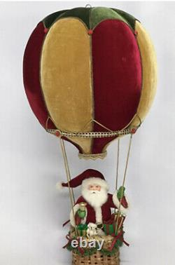 Katherine's Collection Santa In Hot Air Balloon 28-028736 NEW CHRISTMAS 2020