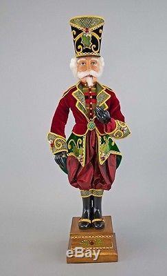 Katherine's Collection Tartan Traditions 32 Nutcracker Display Christmas New