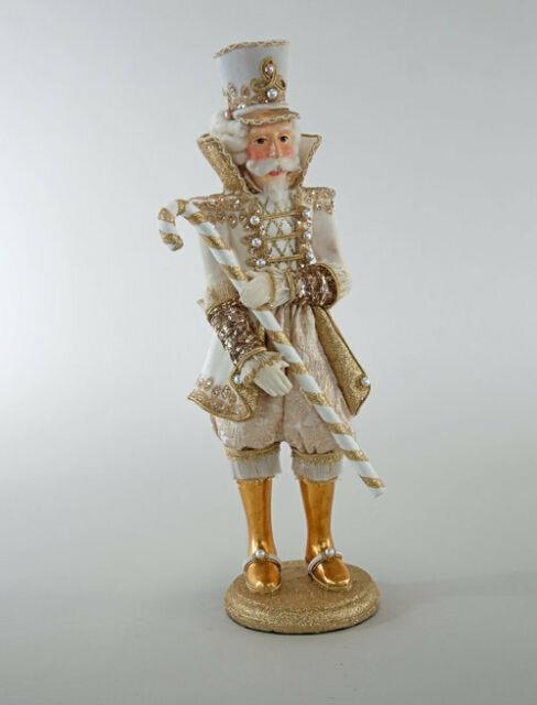 Katherine's Collection Thread Of Gold Table Top Nutcracker 19 28-828359