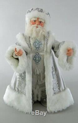 Katherine's Collection Winter Wonderland Santa 24 Doll 28-828267