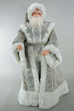 Katherine's Collection Winter Wonderland Santa 36 Doll 28-828192