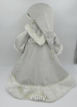 Katherine's Collection Winter Wonderland Santa Doll 18, 28-828276