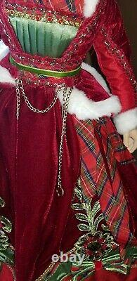 Katherine's Collection Wishes 24 Inch Mrs Santa Doll