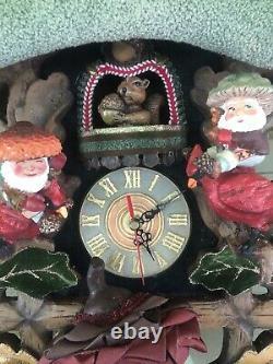 Katherine's Collection Woodlander Cuckoo Clock Display 28-530469 NEW Christmas