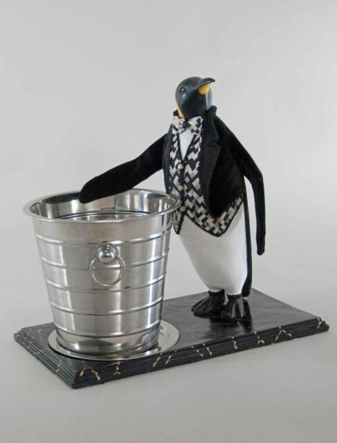 Katherines Collection Hc Pinguin Champagne Ice Bucket Christmas 28-828218