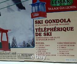 LEMAX SKI 2 CAR GONDOLA MOTORIZED Ski Lift TESTED WORKING 2000 Vintage Rare Nice