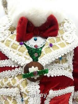 Lavish Sweet Christmas Santa Doll 18 Adjustable Hat- Katherine's Collection