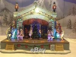 Lemax Christmas Nutcracker Suite Stage Show Action/Lites Music Box SEE VIDEO