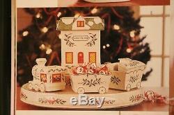 Lenox Holiday 7 Piece Lazy Susan Centerpiece NIB