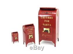 Letters for Santa Mailbox Christmas Decoration Indoor/Outdoor Christmas Decor