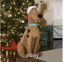Life Size Animated Scooby Doo Christmas Motion Activated Musical Holiday Prop