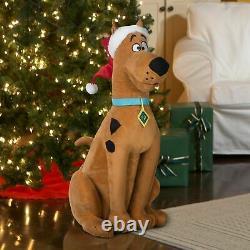 Life Size Santa Scooby Doo Singing Animated Christmas Decoration Holiday Prop