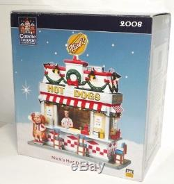 Lot Of 6 Coventry Cove 2007-2008 Lighted Christmas Buldings + Carole Towne Col