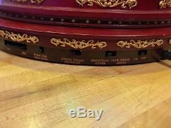 MR CHRISTMAS ANIMATED ROYAL MARQUEE GRAND CAROUSEL With LIGHTSHOW AND MUSIC NEW