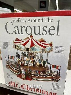MR. CHRISTMAS HOLIDAY AROUND THE CAROUSEL Complete1997 Animated Musical 30 Songs