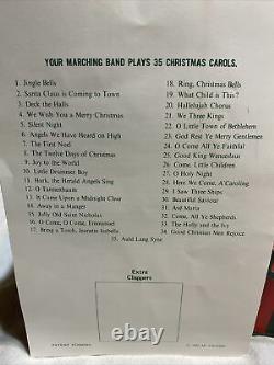 MR. CHRISTMAS Holiday Innovation Santa's Marching Band 8 Musical Bells 35