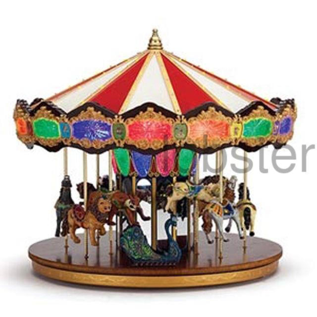 Mr Christmas Largest Grand Jubilee Animated Carousel Plays 40 Songs