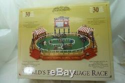 MR CHRISTMAS WORLDS FAIR CARRIAGE RACE MIB FACTORY SEALED GOLD LABEL 30 SONGS d