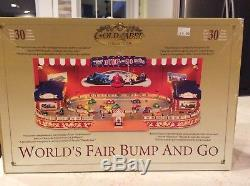 MR CHRISTMAS Worlds Fair Bump And Go, Gold Label