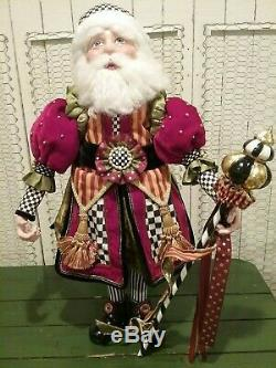 Mackenzie-Childs Festoonery Santa