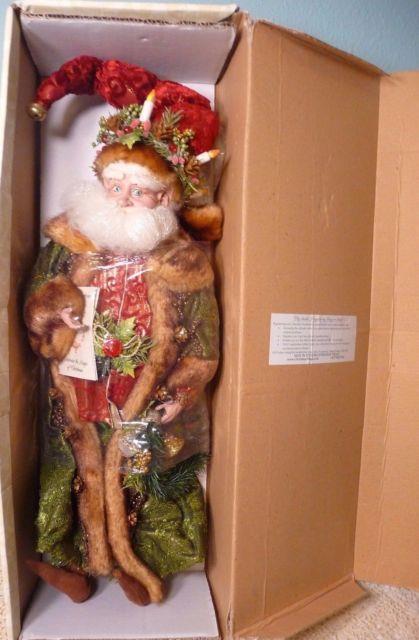 Mark Roberts Father Christmas Santa Fairy Elf Large 21 51-02278 Coasealed New