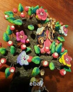 Mexican Tree of Life Estela Aguilar Concepcion Josefina Oaxaca Mexico SIGNED
