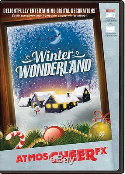 Morris Costumes Atmoscheer Fx Winter Wonderland DVD. ATC0002