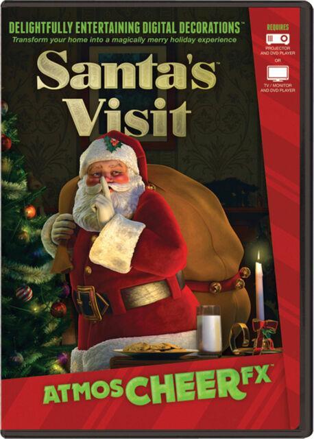 Morris Costumes Christmas Atmos Cheer Fx Santa's Visit Dig Dvd. Atc0001