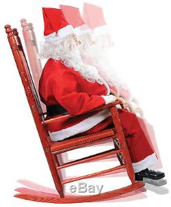 Morris Costumes Rocking Chair Holiday Animated Santa Boxed Decorations & Props