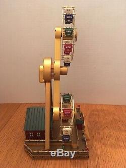 Mr. Chrismas gold label worlds fair double ferris wheel with box