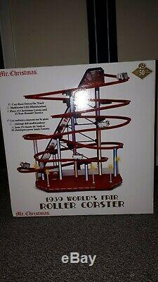 Mr. Christmas 1939 Roller Coaster New In Box