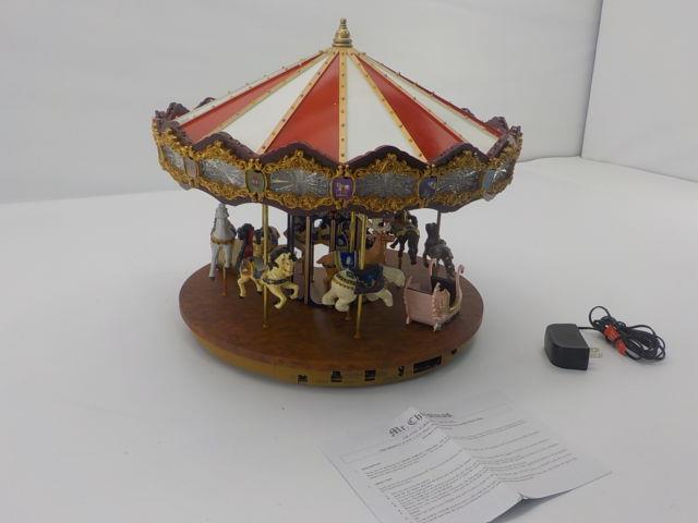 Mr. Christmas 19751 Grand Jubilee Holiday Carousel Music Box