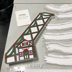 Mr. Christmas 1992 Santa's Ski Slope Animated Tree Decor Works Complete (CT)