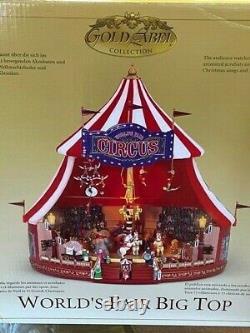 Mr. Christmas 2004 Worlds Fair Big Top Animated Musical Circus
