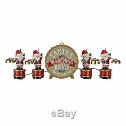Mr. Christmas 2016 Animated Santa's Marching Band #23604