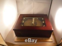 Mr Christmas 6 Bell Accompaniment 16 Song Disc Music Box