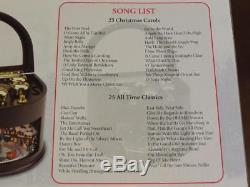 Mr Christmas 75th Anniv. Lit Animated Train Symphony of Bells 50 Songs Music Box