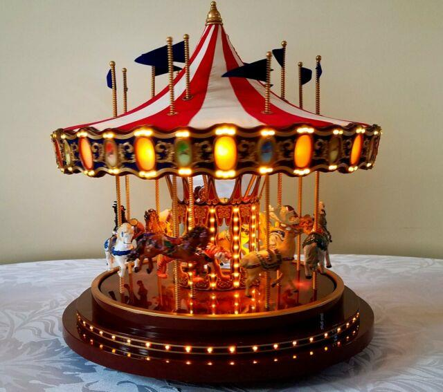 Mr. Christmas 75th Anniversary Gold Label Collection Carousel 2010
