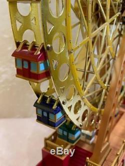 Mr. Christmas 75th Anniversary World's Fair Grand Ferris Wheel Lighted 30 Songs