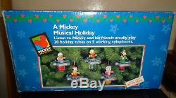 Mr. Christmas A Mickey Musical Holiday 1997 20 Christmas songs. 1-3 DAY DELIVERY
