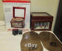Mr Christmas Animated Holiday Symphonium Victorian Ballroom Music Box