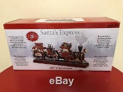 Mr. Christmas Animated Musical Santas Express with Working Smokestack