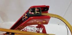 Mr. Christmas Animated World's Fair Grand Roller Coaster vintage #79751