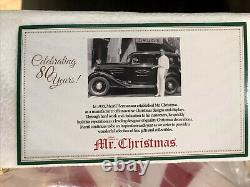 Mr. Christmas Carousel 80th Anniversary 2013 Very Rare QVC Exclusive Never Used