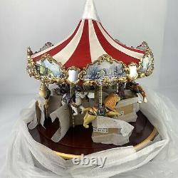 Mr. Christmas Carousel Holiday Merry Go Round Lights 30 Songs 2001 NIB NOS