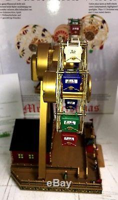 Mr Christmas Double Ferris Wheel Lights, Motion, 30 Holiday & Classic Songs